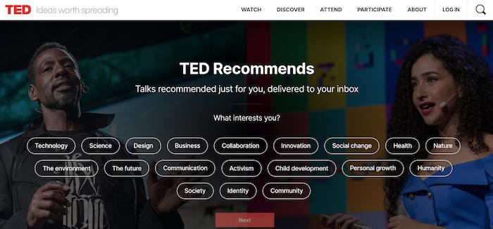 TEDスクリーンショット